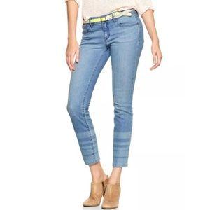 GAP 1969 Always Skinny Striped Jeans